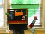 """Cokey's puppets build a """"Rocking Horse."""""""